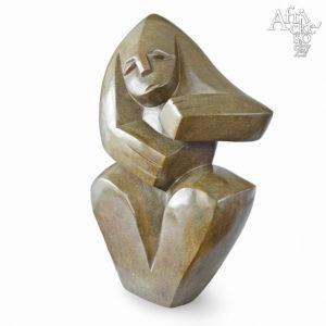Skulptur für den Garten und Haus | Moderne Steinskulpturen für Wohnung und Wohnzimmer - online kaufen