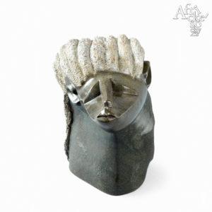 Skulptur von Clever Gangarahwe: Kuss