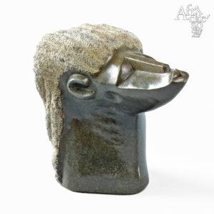 Skulptur von Clever Gangarahwe | Steinskulpturen online kaufen | Steinskulpturen für Garten und Haus