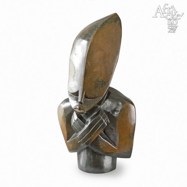 Skulptur von Clever Gangarahwe: Mein Herz