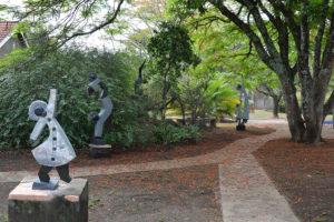 Skulpturen von Dominic Benhura