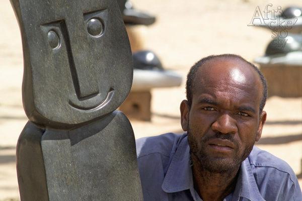 Bildhauer Rearson Chakawa Tengenenge 2007