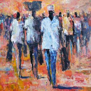Gemelde von Barry Lungu | Gemälden von afrikanischen Künstlern | Gemälden online kaufen