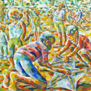 Gemelde von Lovermore Kambudzi | Gemälden von afrikanischen Künstlern | Gemälden online kaufen