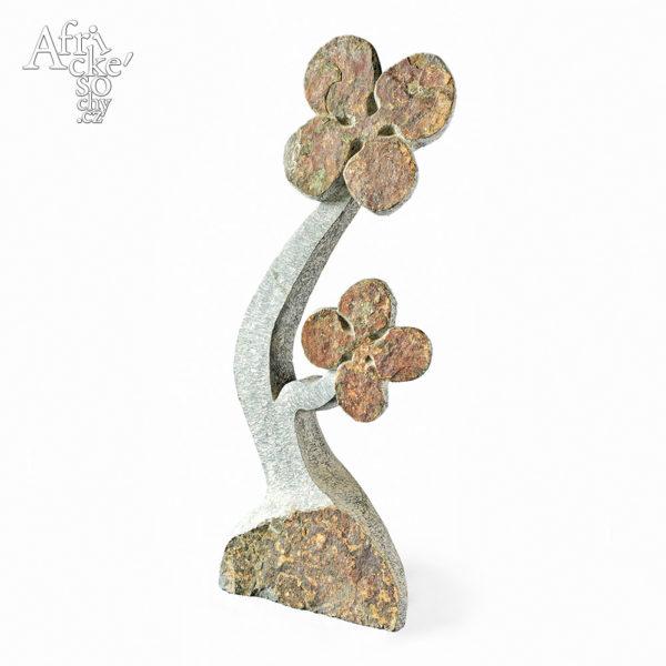 Skulptur von Dominic Benhura: Blume