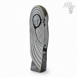 Skulptur von Factor Ziira: Afrikanische Königin