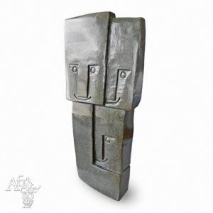 Skulptur von Rearson Chakawa: Wir sind drei