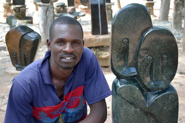 Bildhauer Smibio Bangura Tengenenge 2016