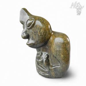 Skulptur eines anonymen Künstlers: N'anga