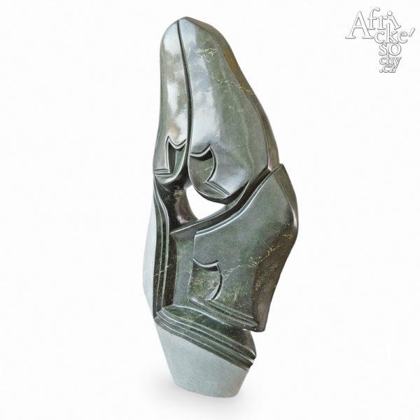 Skulptur von Ronniey Muzeya: Große Familie