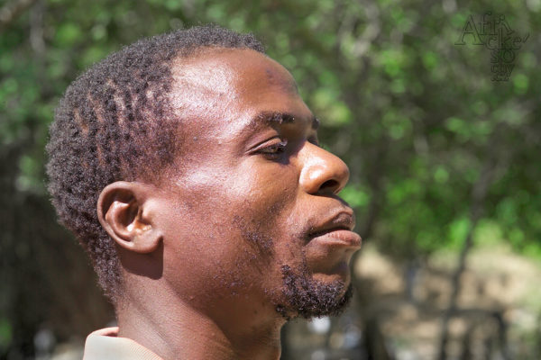 Bildhauer Sylvester Gunja Tengenenge 2007