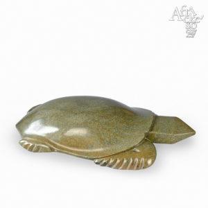 Skulptur von Uxorius Matemera: Schildkröte | Steinskulpturen online kaufen