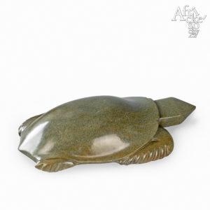 Skulptur von Uxorius Matemera: Schildkröte