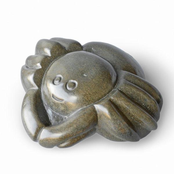 Skulptur von Thomas Kagwamba: Krabbe