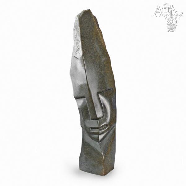 Skulptur von Victor Fire: Kopf eines Denkers
