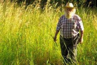 Tom Blomefield in Tengenenge im Frühjahr 2007