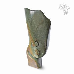 Skulptur von Issa Simms: Kopf